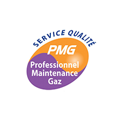 Professionnel maintenace du gaz